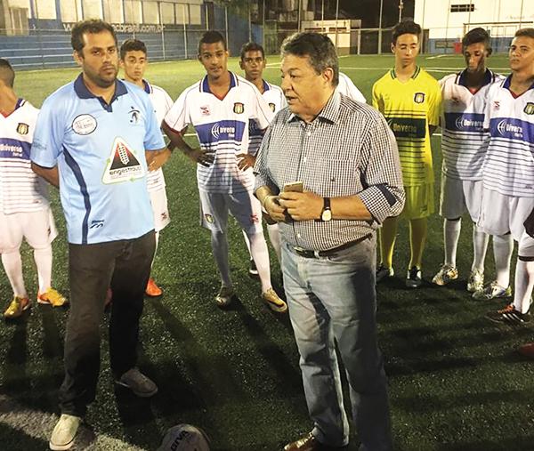 Nairo Ferreira de Souza diz que Azulão terá mais torcedores (Foto: Divulgação)