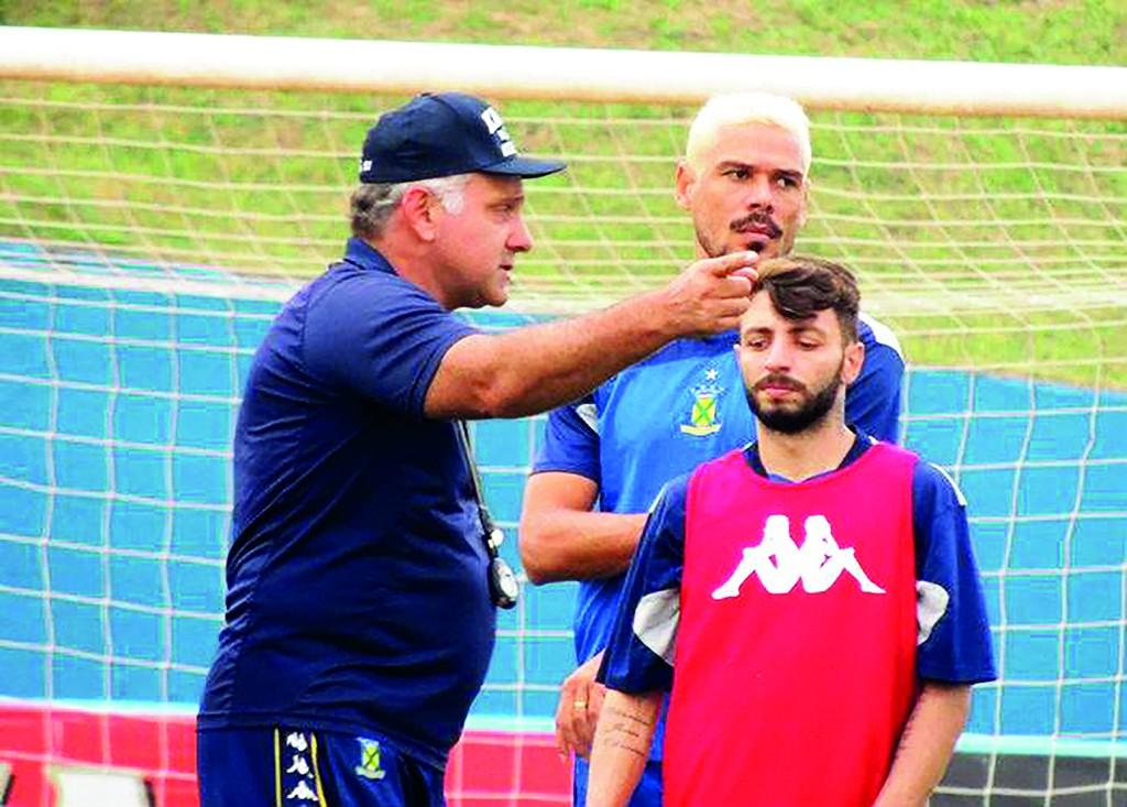 Toninho Cecílio - Técnico Santo André - Divulgação
