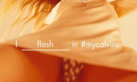 6916158fe A marca Calvin Klein foi alvo de polêmica depois de publicar uma foto  tirada por baixo da saia de uma modelo. A profissional da foto é a modelo  Klara ...