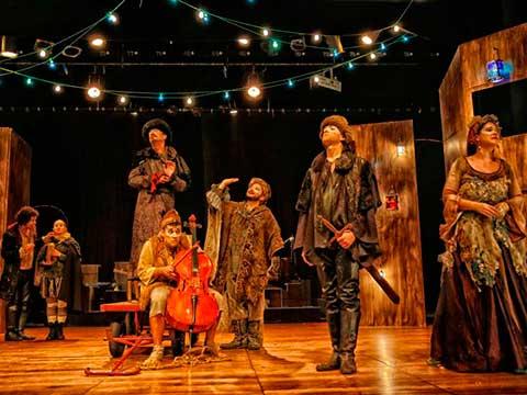 """""""Os cavalheiros de Verona"""" é considerada a primeira obra de Shakespeare (Foto: Divulgação)"""