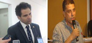 Tucano e petista disputam presidência da CPI (Foto: Marcos Tato e Divulgação)