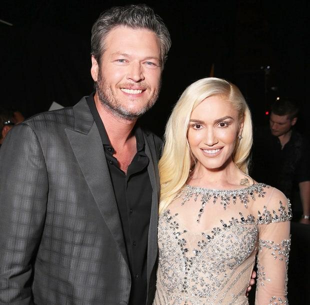 Blake Shelton e Gwen S... Gwen Stefani And Blake Shelton