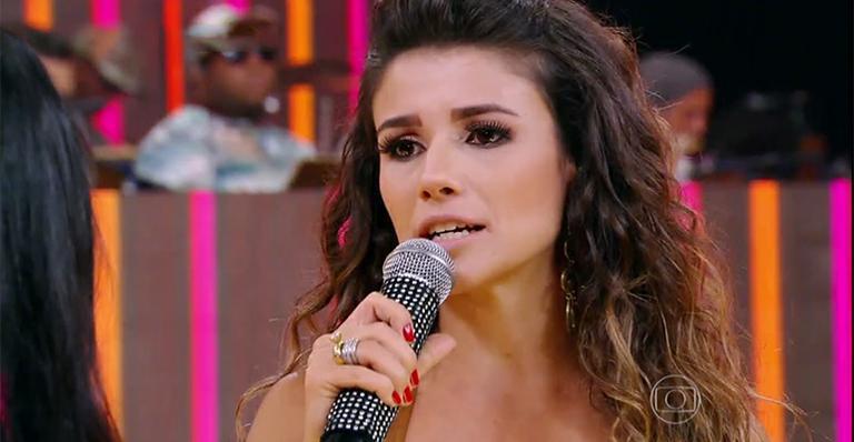 Paula culpou crise (Foto: TV Globo)