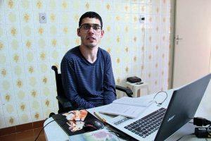 Gabriel Bastos afirma que emprego foi divisor de águas (Foto: Pedro Diogo)