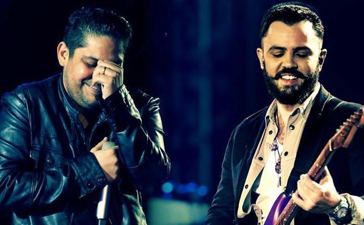 Jorge e Mateus fizeram show em Guarujá (Foto: Reprodução)