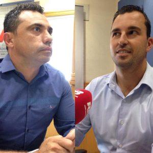 Michels e Vaguinho também trocaram farpas durante o debate (Foto: Danilo Gobatto/Rádio Bandeirantes)