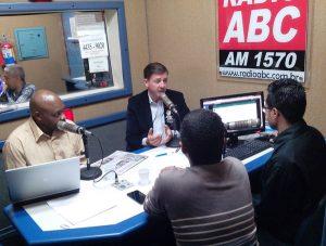 Morando também criticou apoio de petistas a Alex (Foto: Janete Ogawa/Rádio ABC)