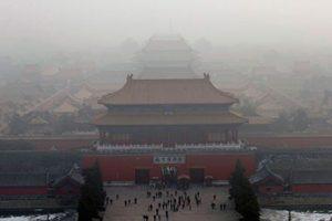Poluição na China foi causa de alerta vermelho (Foto: Reprodução)