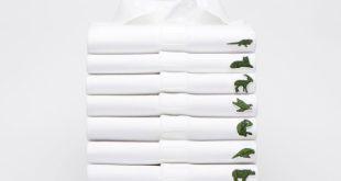 O tradicional crocodilo que vem bordado em todas as camisas polo da Lacoste  foi substituído, mas por uma boa causa. A marca francesa se uniu ao projeto  Save ... da296f72b4