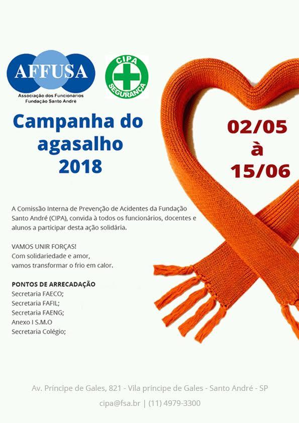 4566d24d83f Fundação Santo André realiza campanha para doação de roupas