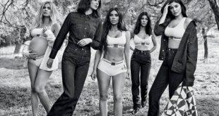 e6402b0f8 O estilista Raf Simons, diretor criativo da Calvin Klein, parece ter mesmo  gostado de trabalhar com as irmãs Kardashian-Jenner.