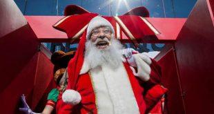 c02afa2e0 ... mas os shoppings do ABC já estão no clima natalino com decorações e a  presença do personagem mais tradicional da festa: Papai Noel.