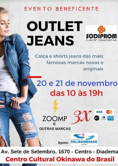 Outlet jeans traz descontos de até 70% para Diadema - Repórter Diário