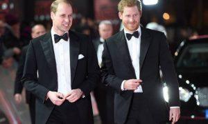 Príncipe William e o irmão, Harry
